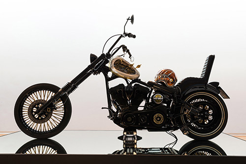 chopper harley indian larry custom