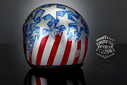 custom helmet captain america
