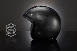 casco moto custom Flames Line