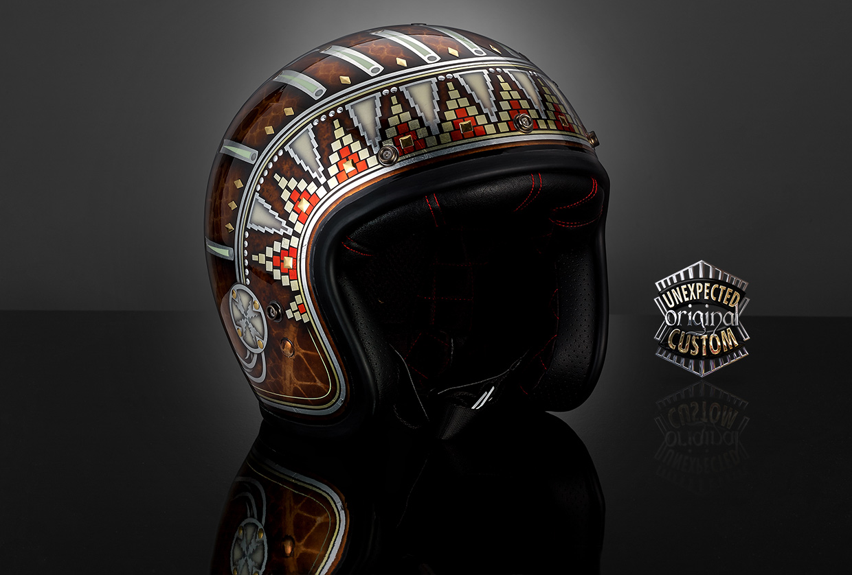 Bell Motorcycle Helmet >> INDIAN, Bell Custom 500 - UNEXPECTED CUSTOM
