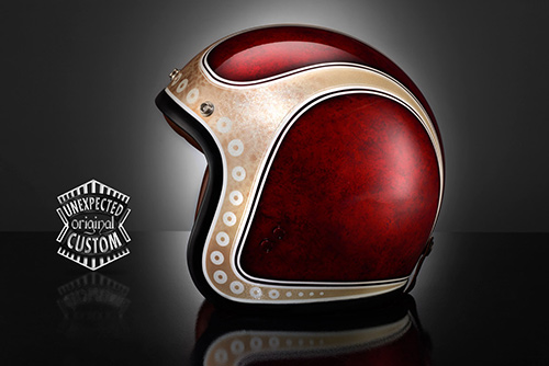 airbrush helmet custom design new vintage