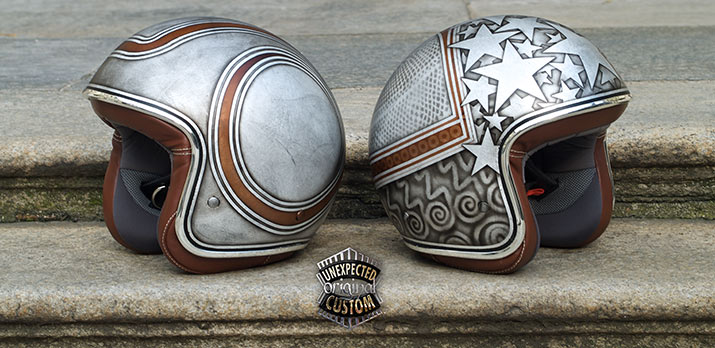 helmets unexpected custom