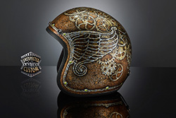 casco custom steampunk