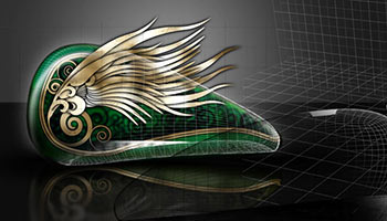 Luxury Kustom Art Design 2 & 3D Planning