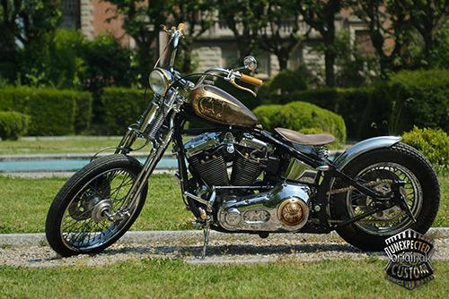 Harley Davidson Softail Springer 1340 Mustang Chopper Vintage Baroque1