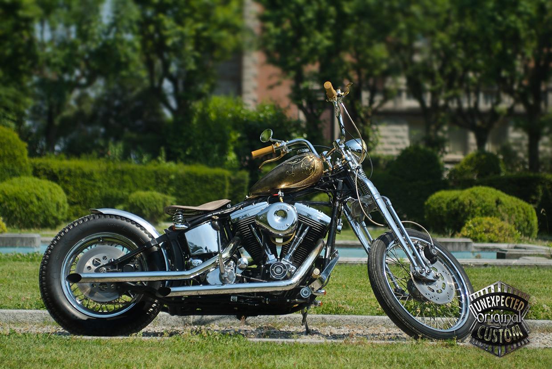 Harley Davidson: MUSTANG CHOPPER, Harley-Davidson Softail Springer 1340