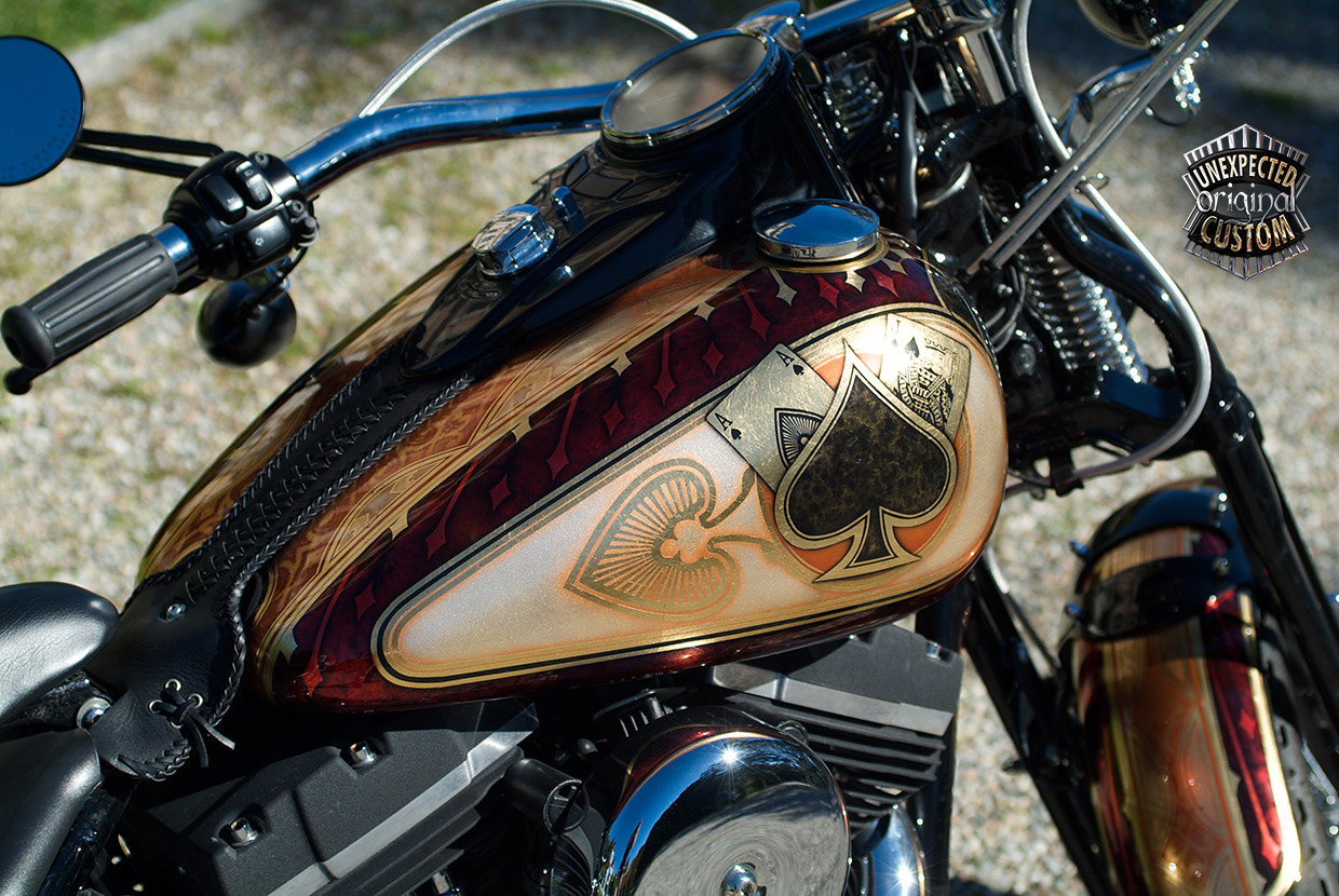 Blackjack Harley Davidson Softail Unexpected Custom