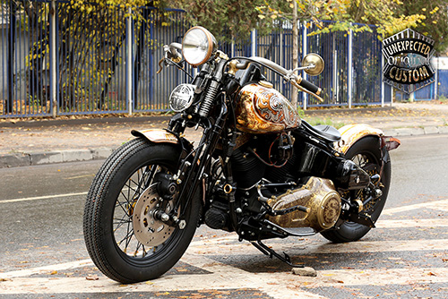 harley softail crossbones old school