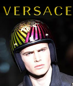 versace fashion show unexpected custom